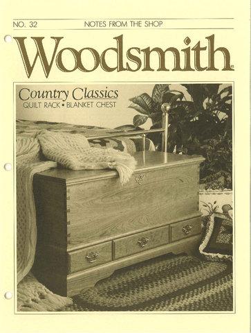 Woodsmith #32