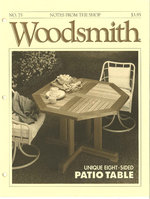 Woodsmith Issue 75
