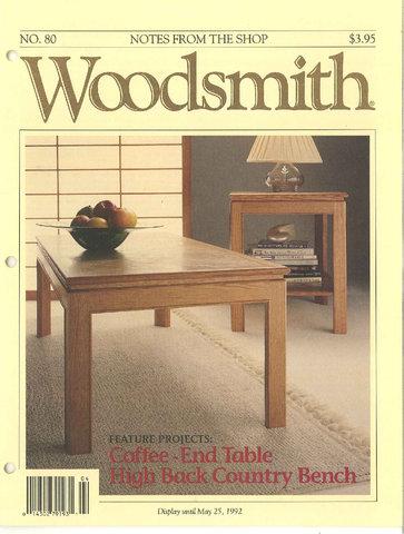 Woodsmith #80